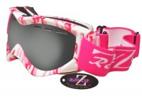 RayZor Pink Camouflage Framed Goggle With an Anti Fog Smoked Mirrored Vented Lens.