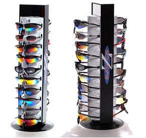 RayZor Counter Top Rotational Sunglasses Display with Mirrors